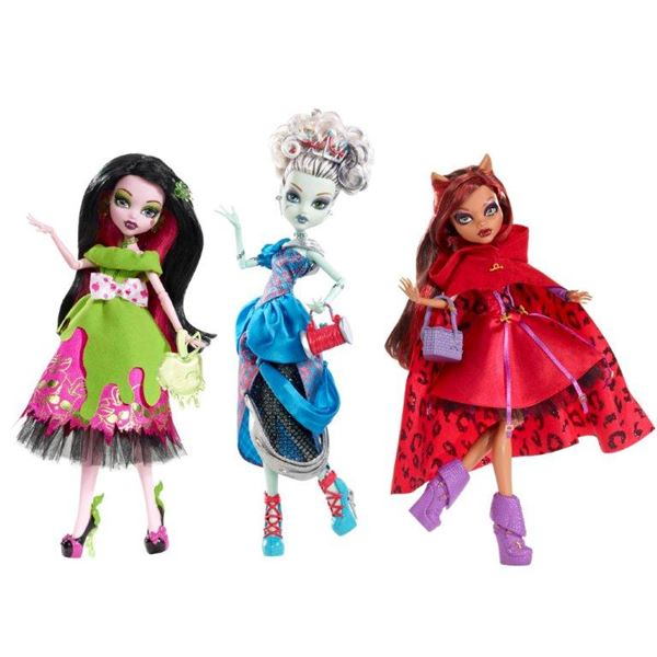 Mattel TGT Monster High - Draculaura