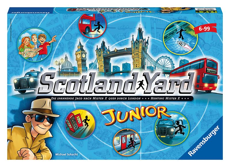 Ravensburger Scotlandiard junior hra