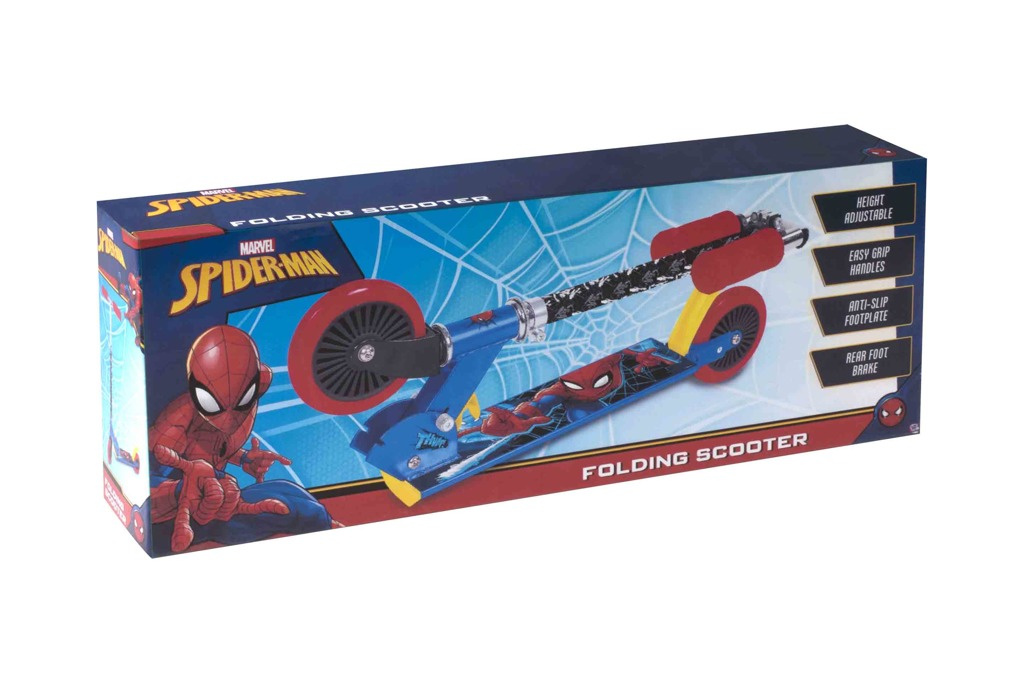 Alltoys Halsall Koloběžka Spiderman