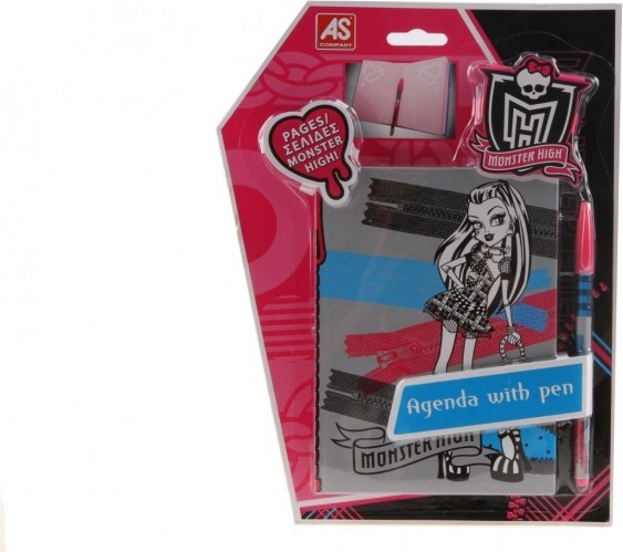 Mikro Sešit Monster High s perem