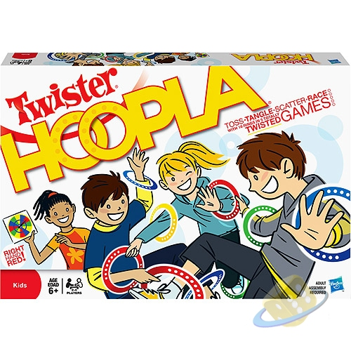 Hasbro Twister Hoopla